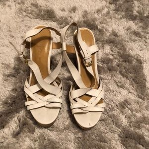 Open Toe Wedges — Size 10